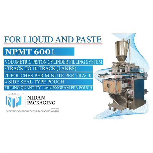 NPMT 600L - Multitrack Pouch Packing Machine