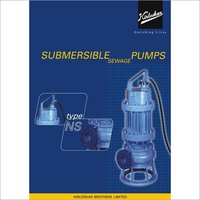 Kirloskar Submersible Sewage Pump