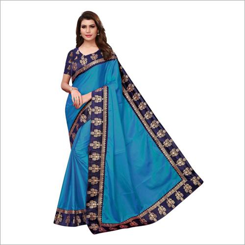 Paper Jhumki Lace Designer Saree