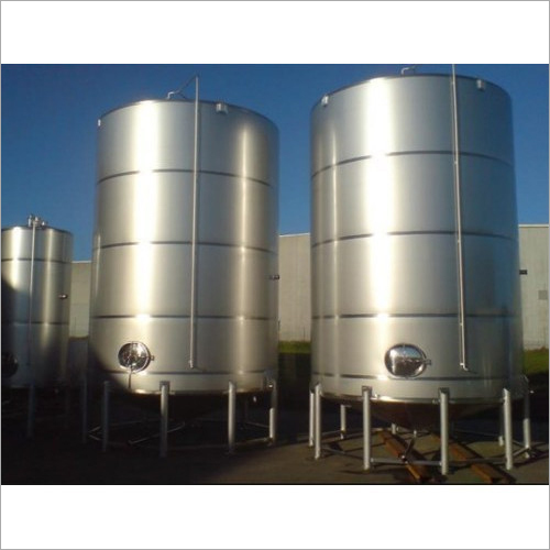 Stainless Steel Vertical Storage Tank