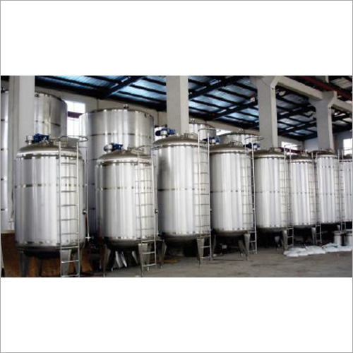 Stainless Steel Mixing Storage Tank