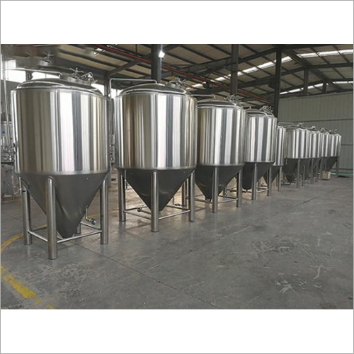 Stainless Steel Conical Shape Storage Tank