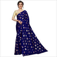 Latest Foil Printed Designer Saree