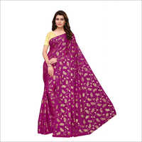 Fancy Foil Print Designer Saree