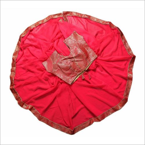 Lace Plain Designer Saree