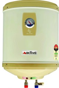 ACTIVA Amazon Storage Water Heater Geyser ABS Top Bottom Stainless Steel Body (25Ltr.)