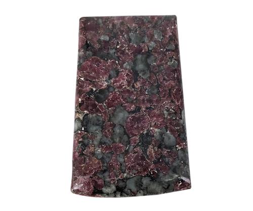 Faceted Eudolite Cabochon Stone