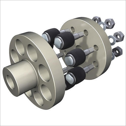 Rubber Bush With Brass Sleeve For Pin Bush Coupling