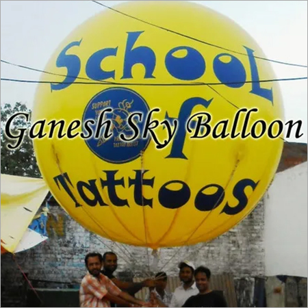 School Advertising Balloons