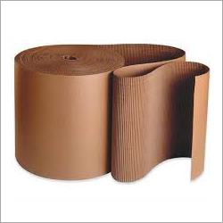 Plain Brown Corrugated Packaging Roll