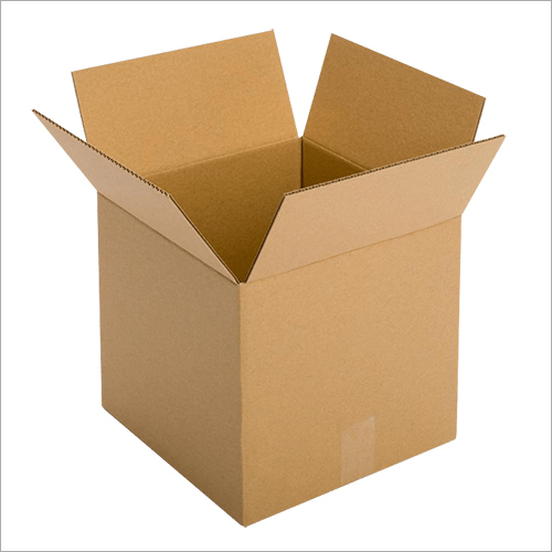 Brown Fiberboard Corrugated Box