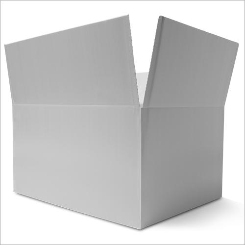 White Corrugated Carton