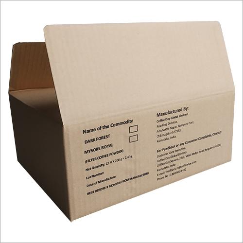 Printed Brown Corrugated Box