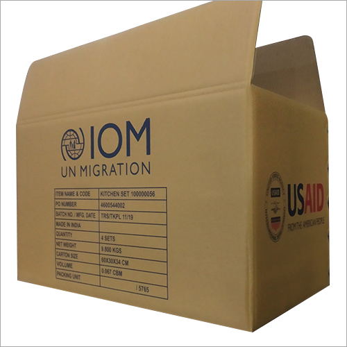 Customized Packaging Corrugated Box