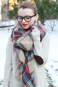 wholesale acrylic scarves