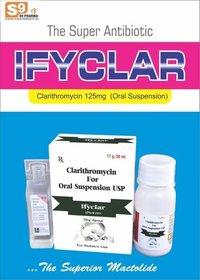 Clarithromycin 125 mg