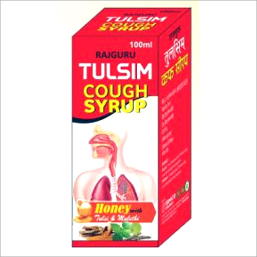 100ml Tulsim Cough Syrup