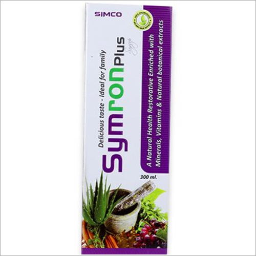 Natural Health Restorative Enriched With Minerals Vitamins And Natural Botanical Extract