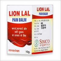 10gm Lion Lal Pain Balm