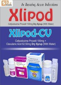 Cefpodoxime 100mg + Clavulanic Acid 62.50mg/5ml ( With Wfi)