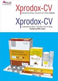 Cefpodoxime 50mg + Clavulanic Acid 31.25mg/5ml (With WFI)