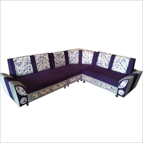 L Shape Wodden Sofa