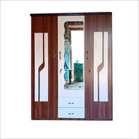 Wooden Three Door Almirah