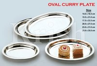 Oval Curry Plate
