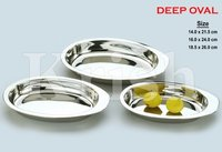 Deep Oval Trendy Tray