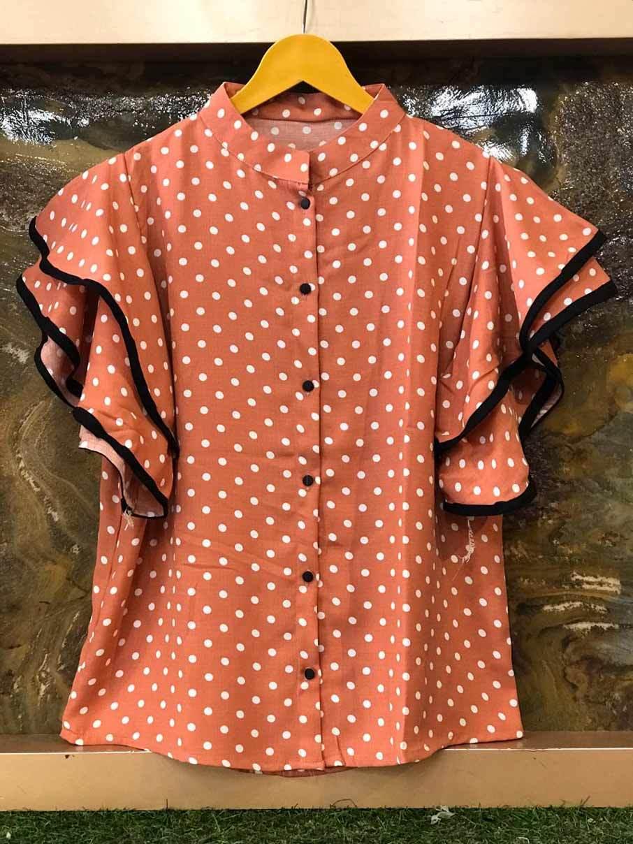 Imported Premium Soft Polka Dot Gentlemen  Fabric