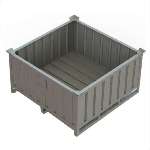 Corrugated Steel Box