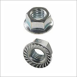 Flange Nut With Serration