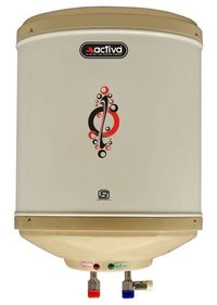 ACTIVA Amazon Instant Water Heater Geyser ABS Top Bottom Stainless Steel Body (6Ltr.)
