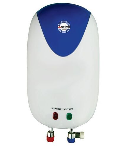 Activa Premium Instant Water Heater Geyser ABS Body Rust Free Body (6 Ltr.)