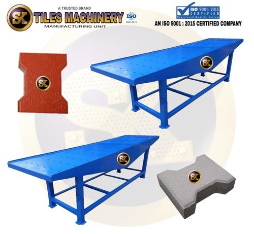 Vibro Table Paver Block Machine