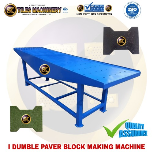 Interlocking Tiles Vibrating table
