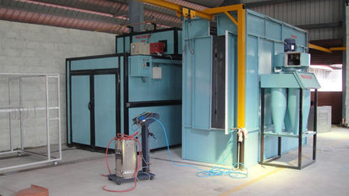 Industrial Powder Coating Plant