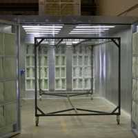 Metal Powder Coating Booth