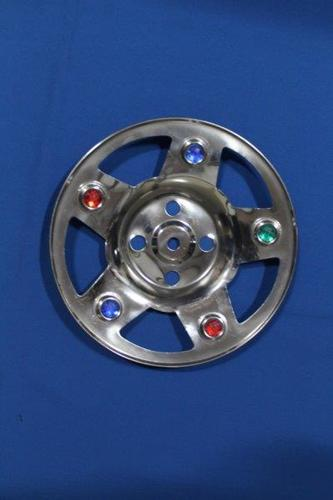 8B - WHEEL CAP KUMKUM WITH STONE