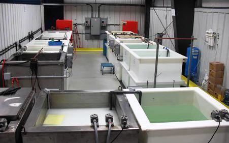 Industrial Electroplating Machine