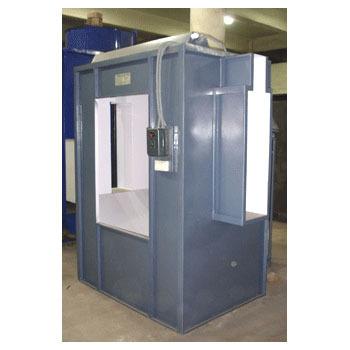 Single Cyclone Powder Coating Booth