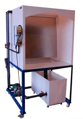Water Wash Spray Booth