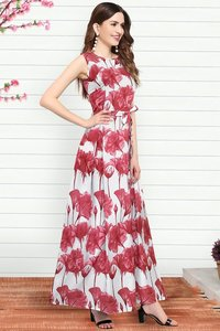 Parle pink gown