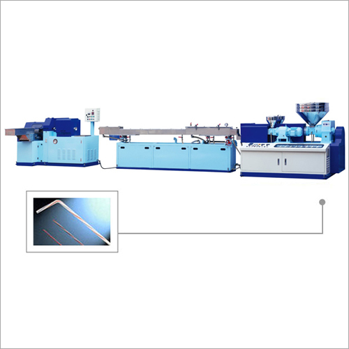 High Speed PP Straw Making Machine