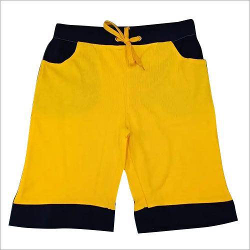 Boys Yellow Shorts