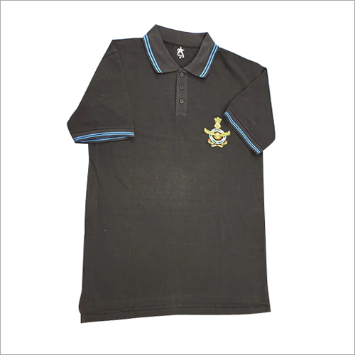 Boys Plain Polo T-Shirt