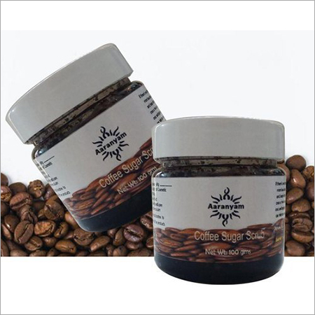 Herbal Coffee Sugar Face Mask Scrub