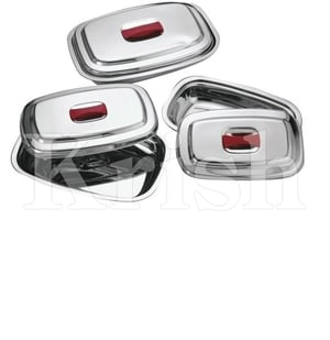 Oblong Dish With Cover