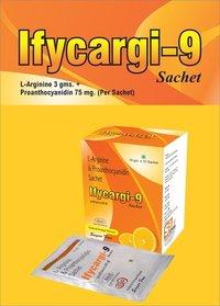 L-Arginine 3gm + Proanthocyanidin(90%) 75mg
