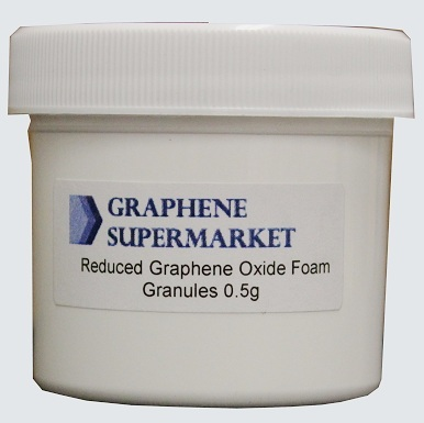 Reduced Graphene Oxide Foam Granules